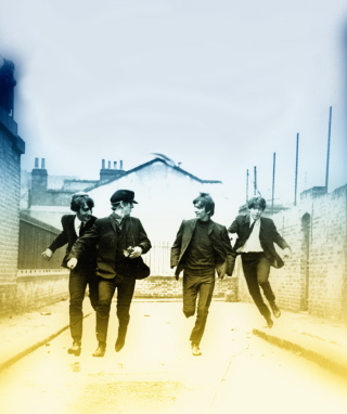 The Beatles - Obrázkek zdarma pro 750x1334