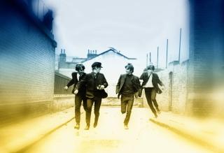 The Beatles - Obrázkek zdarma pro Samsung Galaxy Q