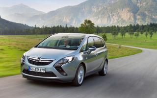 Opel Zafira - Obrázkek zdarma pro LG P700 Optimus L7