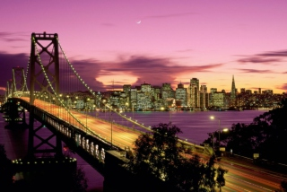 San Francisco Bridge California Wallpaper for Android, iPhone and iPad