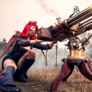 Fallout 4 cosplay costume - Obrázkek zdarma pro iPad 2