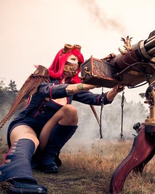 Fallout 4 cosplay costume - Obrázkek zdarma pro 480x800