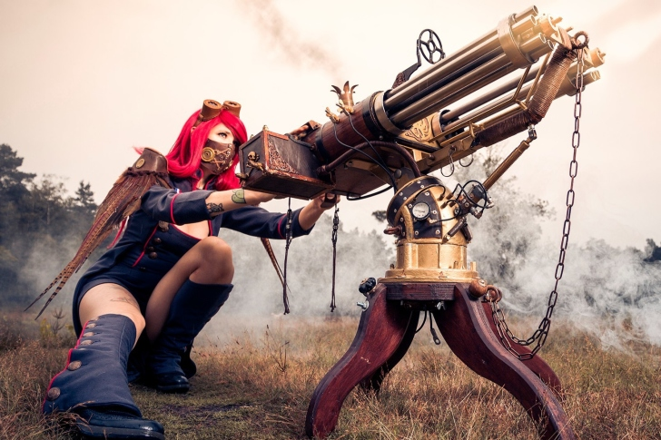 Fallout 4 cosplay costume wallpaper