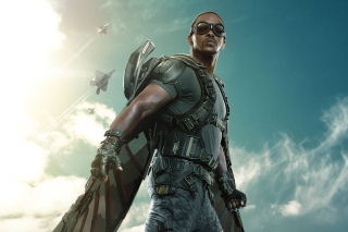 The Falcon Captain America The Winter Soldier - Obrázkek zdarma pro 1280x800