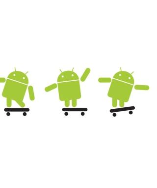 Android Skater - Obrázkek zdarma pro 176x220