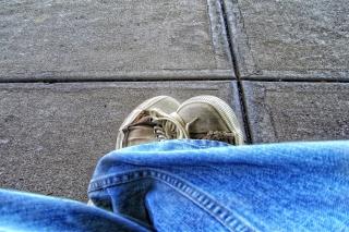 Old Shoes - Obrázkek zdarma pro Nokia X5-01