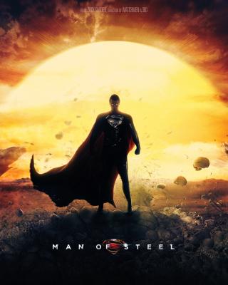 DC Comics - Man of Steel - Obrázkek zdarma pro 240x320