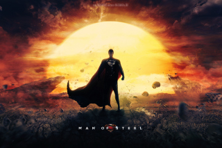 DC Comics - Man of Steel Background for Android, iPhone and iPad
