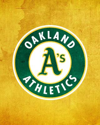 Oakland Athletics - Obrázkek zdarma pro Nokia Asha 503