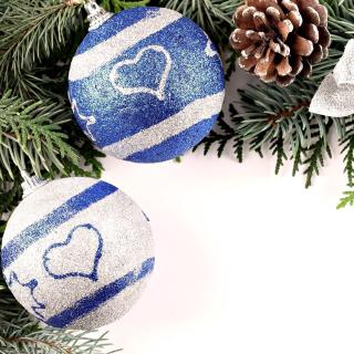 Christmas Tree Balls - Obrázkek zdarma pro iPad