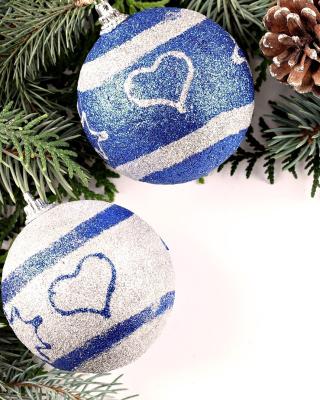 Christmas Tree Balls - Obrázkek zdarma pro 176x220