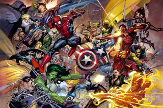 Marvel Civil War Picture for Android, iPhone and iPad