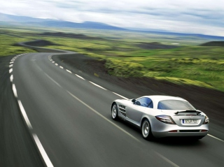 SLR Mclaren Mercedes Benz Picture for Android, iPhone and iPad