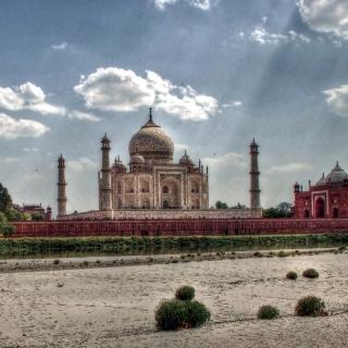 Taj Mahal, India - Obrázkek zdarma pro 1024x1024