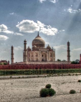 Taj Mahal, India - Obrázkek zdarma pro 240x400