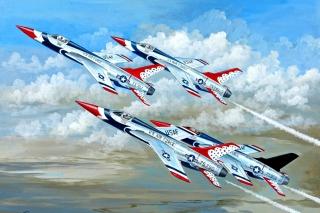 Republic F 105 Thunderchief Fighter Bomber - Obrázkek zdarma pro 1280x720