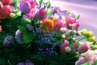 Flowers Bouquet Wallpaper for Android, iPhone and iPad