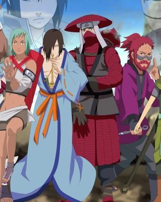 Naruto Shippuden, Jinchurikis, Uchiha, Tobi, Obito - Obrázkek zdarma pro Nokia X7