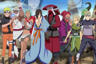 Naruto Shippuden, Jinchurikis, Uchiha, Tobi, Obito - Obrázkek zdarma pro Samsung Galaxy Ace 3