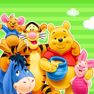 Winnie the Pooh - Obrázkek zdarma pro iPad mini