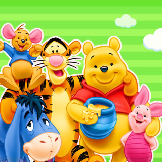 Winnie the Pooh - Obrázkek zdarma pro iPad Air