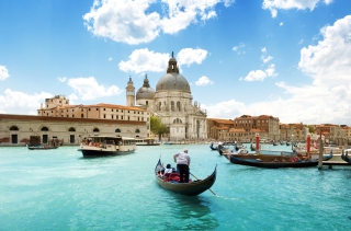 Free Venice Grand Canal Picture for Android, iPhone and iPad