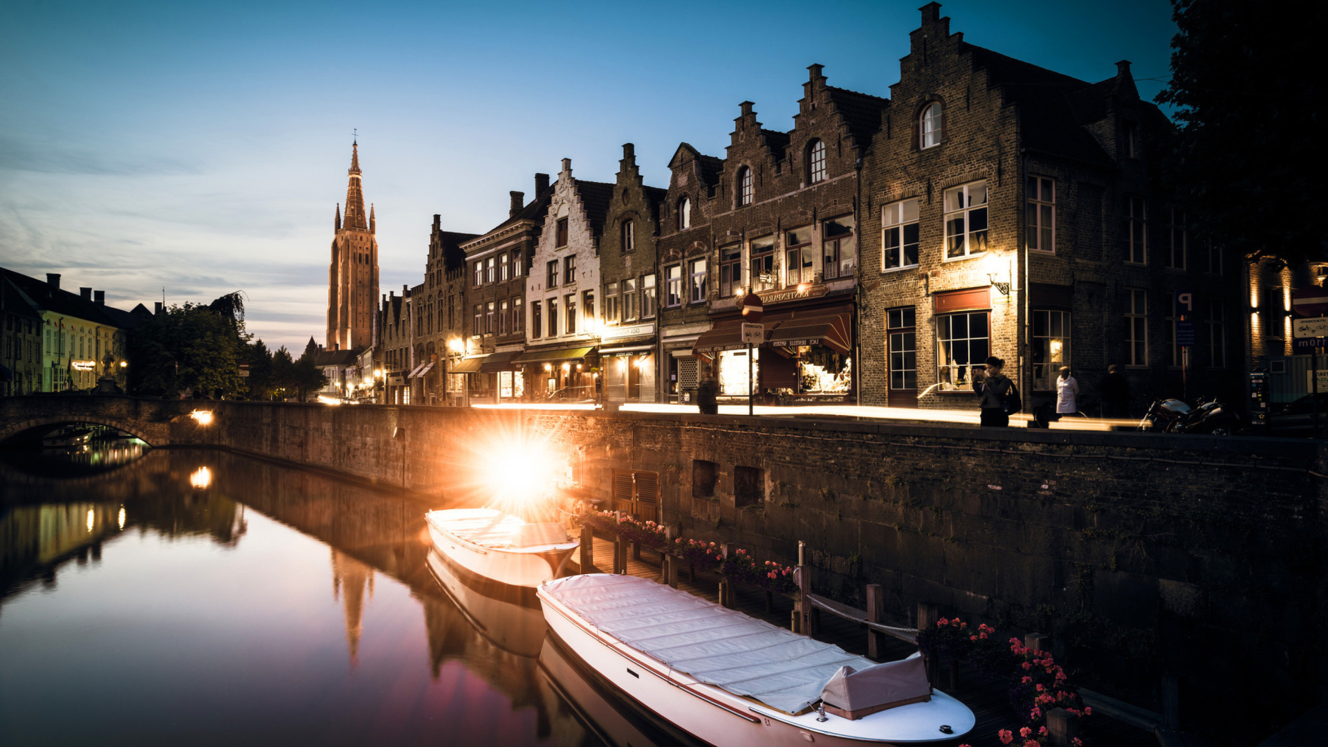 Belgium West Flanders Bruges Wallpaper For Desktop