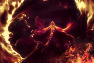 Bleach Shigekuni Genryuusai Yamamoto - Obrázkek zdarma pro 480x320