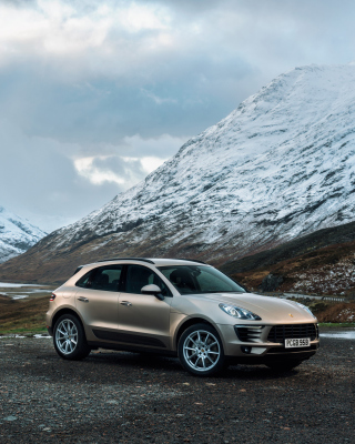 Porsche Macan - Obrázkek zdarma pro Nokia Asha 310