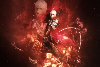Devil may cry 3 Background for Android, iPhone and iPad