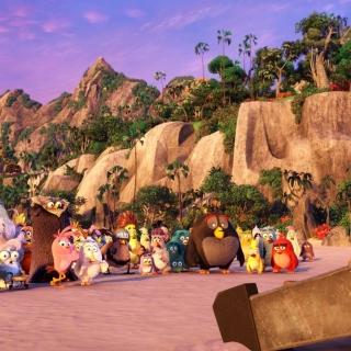 The Angry Birds Movie - Obrázkek zdarma pro 208x208