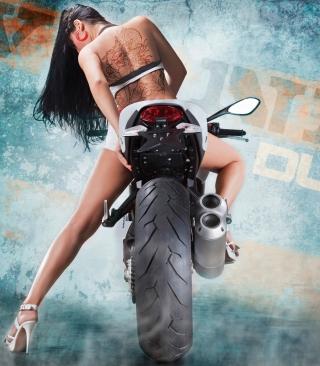 Vilner Ducati Monster 1100 Evo - Obrázkek zdarma pro 480x640