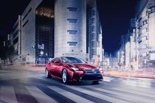 Lexus RC Coupe - Obrázkek zdarma pro Fullscreen Desktop 1024x768