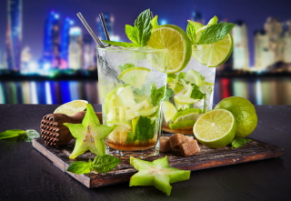 Mojito In Sky Bar Background for Android, iPhone and iPad