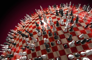 Chess Game Board Picture for Android, iPhone and iPad