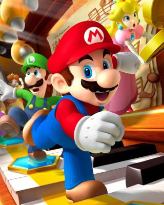 Mario Party - Super Mario - Obrázkek zdarma pro Nokia Asha 308