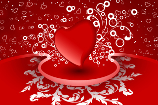 Free Heart Decor Picture for Android, iPhone and iPad