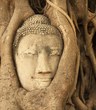 Wooden Buddha In Thailand - Obrázkek zdarma pro Nokia Asha 501