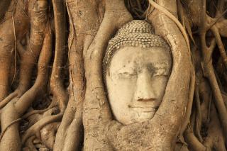 Wooden Buddha In Thailand - Obrázkek zdarma pro Android 1440x1280