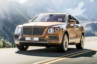 Bentley Bentayga SUV Picture for Android, iPhone and iPad