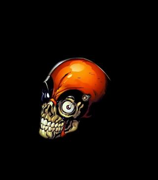 Skull Tech - Obrázkek zdarma pro 128x160