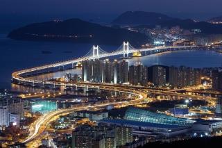 Beautiful Night Cityscape - Obrázkek zdarma pro LG P970 Optimus