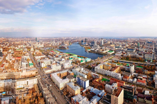 Free Yekaterinburg Panorama Picture for Android, iPhone and iPad