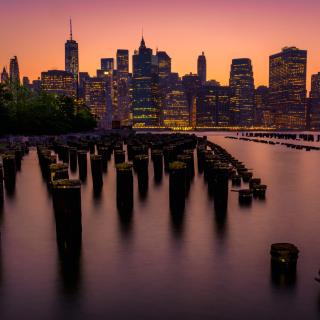 New York City Downtown - Obrázkek zdarma pro iPad