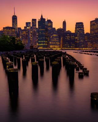 New York City Downtown - Obrázkek zdarma pro iPhone 5