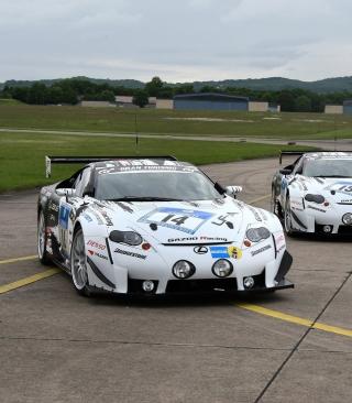 Lexus RC F GT3 Race Car - Obrázkek zdarma pro 640x960