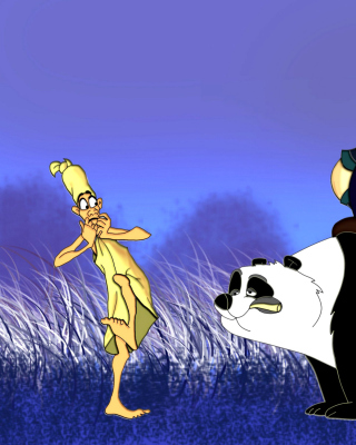 Mulan Cartoon - Obrázkek zdarma pro Nokia Asha 303