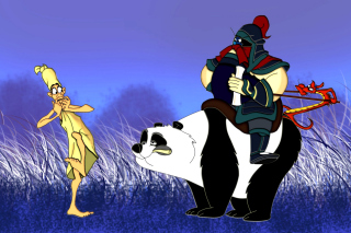 Mulan Cartoon - Obrázkek zdarma pro Widescreen Desktop PC 1920x1080 Full HD