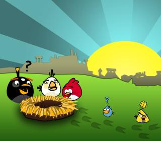 Angry Birds Game - Obrázkek zdarma pro 208x208