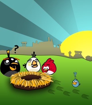 Angry Birds Game - Obrázkek zdarma pro Nokia C-5 5MP
